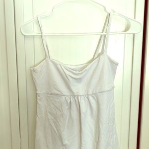 Susana Monaco white stretchy tank top